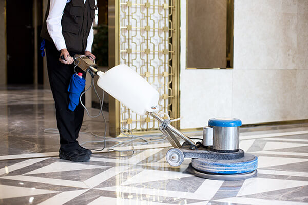 commercial interior cleaning